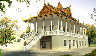 Wat Khmer Temple - Beverly Blvd